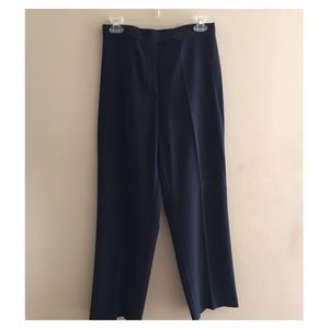 Investment Petite Navy Blue Dress Pants Size 8P